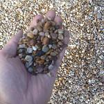 British Soil golden pea gravel